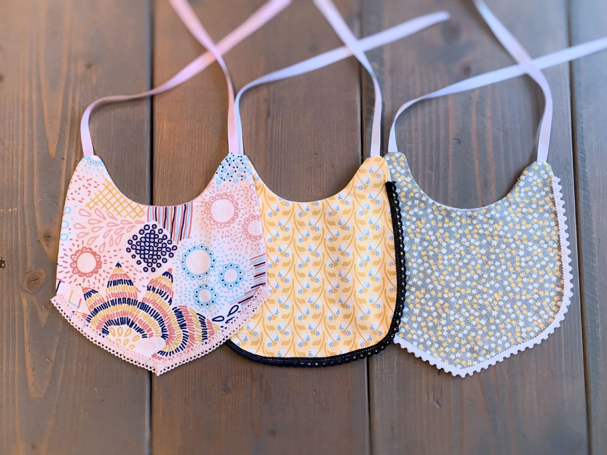 HOW TO: FRENCH TOAST EMBROIDERED BABY BIB